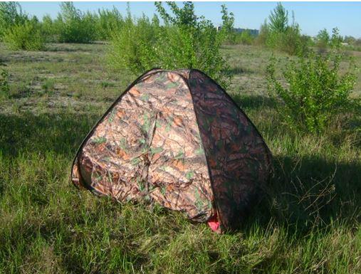 палатку в десятки раз